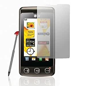 Logotrans -Protector de pantalla y toallita limpiadora para LG KP500
