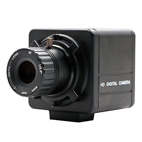 Global Shutter High Speed 120fps CS Mount Manual Fixed Focus UVC Plug Play Driverless USB Camera with Mini Case (Usb 120fps)
