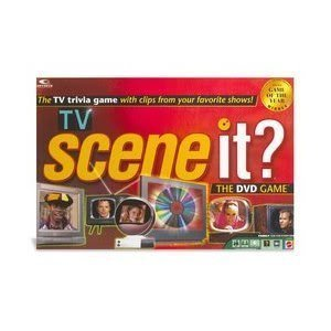 Toy / Game Scene It? Tv Dvd Edition W/ Digital Technology & A Interactive Board Gameplay (For 2-4 Players) by 4KIDS