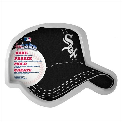 MLB Chicago White Sox Fan Cakes Heat Resistant CPET Plastic Cake -