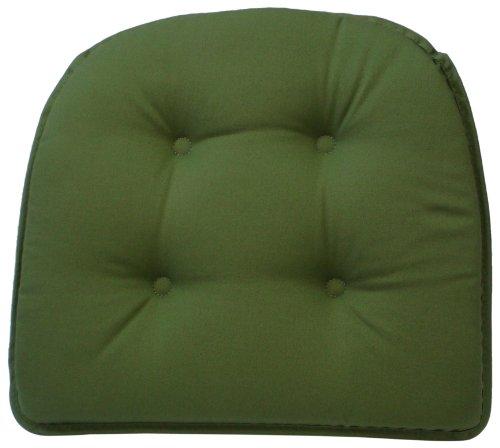 Klear Vu Gripper 100-Percent Cotton Twill Chairpad, Mastic