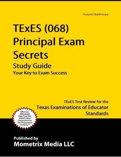 texes (068) principal exam secrets study guide: texes test review ...