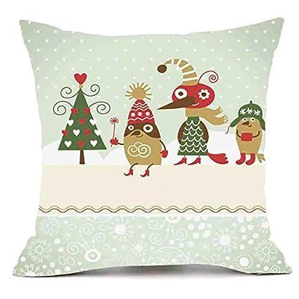 Amazon.com: ForShop Merry Christmas Pillows Cover Decor ...