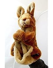 Títere canguro de peluche - Tinas Collection