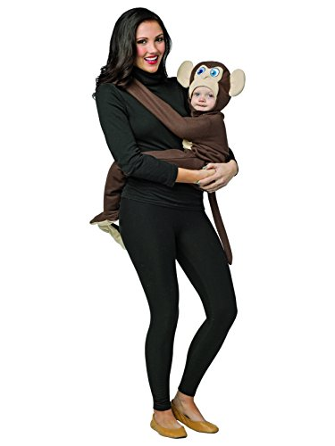 Huggables - Monkey Infant Costume (3-9M)