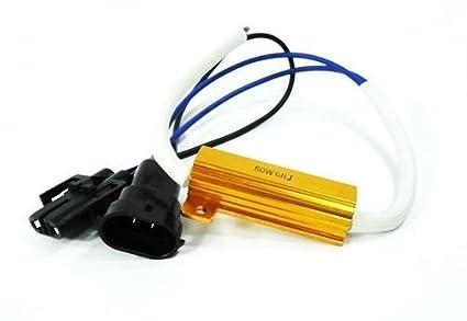 amazon com ledin h11 h8 led low beam headlight xenon hid no error ledin h11 h8 led low beam headlight xenon hid no error load resistor wiring harness socket