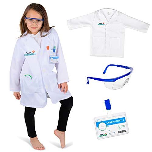 Holiday Dresses Kids - Born Toys Premium Kids Lab Coat