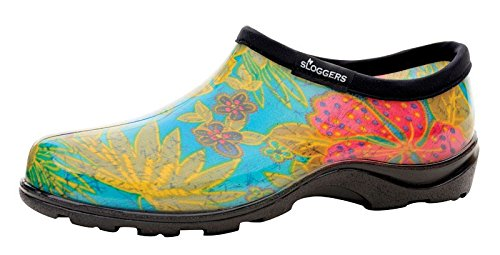 Sloggers 5102BL06 Size 6 Midsummer Blue Women's Sloggers Waterproof Rain Shoes by Principle Plastics