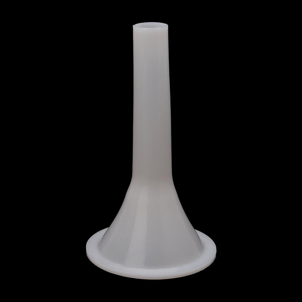 Milue Plastic #22 Size Meat Grinder Sausage Stuffer Tube Horn Funnel For Filling Meat