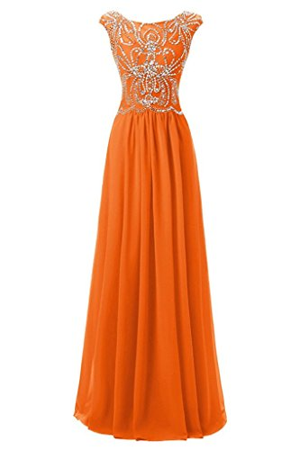 Ivydressing -  Vestito  - linea ad a - Donna Orange 44