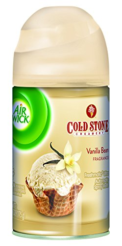(Air Wick Freshmatic Automatic Spray Air Freshener, Vanilla Bean Scent, 1 Refill, 6.17 oz)