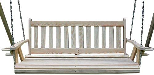 Ecommersify Inc Mission Amish Heavy Duty 800 Lb 4ft. Porch Swing
