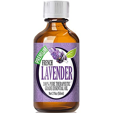 French Lavender 100% Pure, Best Therapeutic Grade Essential Oil - 60mL (2oz)