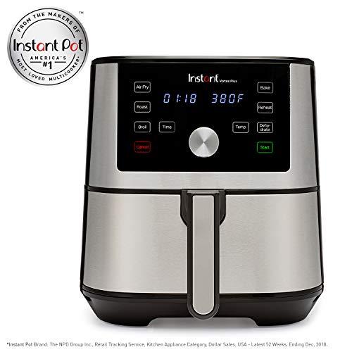 Instant Pot Vortex Plus 6 Qt with Air Fryer Lid Electric Pressure Cooker, 6 quart, N Applicable