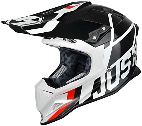 JUST1 J12 CARBON FIBRE DOMINATOR Motocross Enduro MX Helmet CRF RMZ YZF SXF KTM