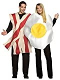 Bacon and Eggs Couple Mens Womens Breakfast Halloween Costume