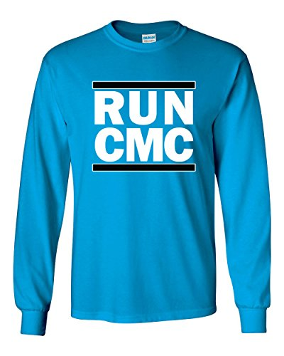 Adult Carolina Blue T-shirt - The Silo LONG SLEEVE BLUE Carolina McCaffrey