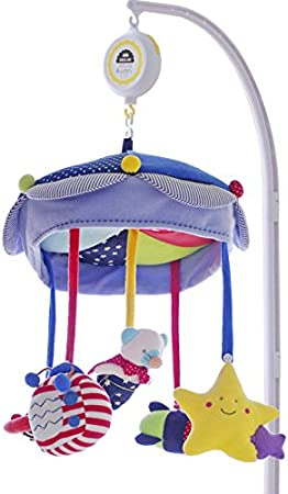 SHILOH Baby Crib Mobile Coslpper Stroller Toy with Musical Box /& Holder Car /& Plane