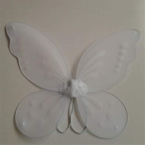 ESHOO Princess Angel Fairy Butterfly Wings Kids Girl Halloween Fancy Dress Costume -