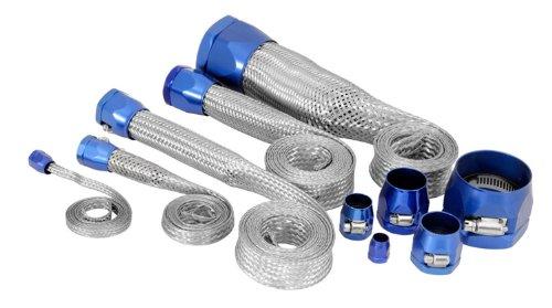 Spectre Performance 7496 Blue Stainless Steel Sleeving Kit