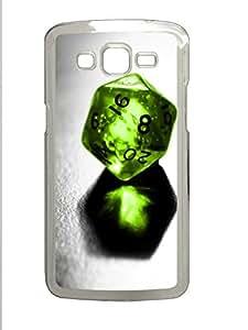 Samsung 2 7106 Case Green Crystal Ball PC Samsung 2 7106 Case Cover Transparent