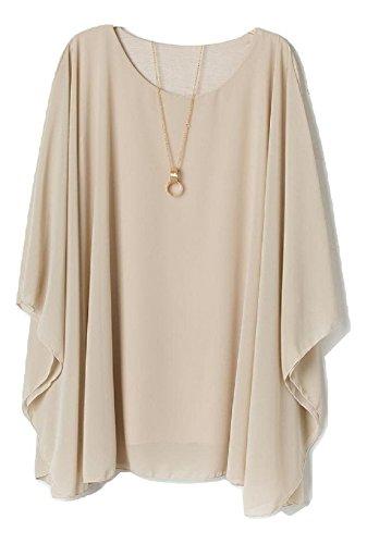 Rose shirt me Unique Accessorize Taille Femme T Beige wqRv8g7Op