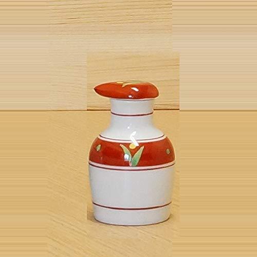 - Imari Pottery Japanese Soy Sauce Bottle Round Type Blooming 00512016