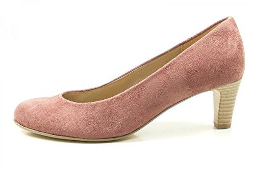 Gabor 85-200 Schuhe Damen Microvelour Pumps Weite F, Schuhgröße:38.5;Farbe:Rosa