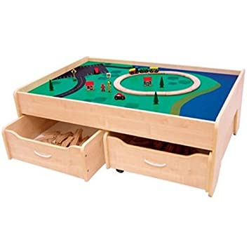 Perfect KidKraft Train Table With Trundle Drawers