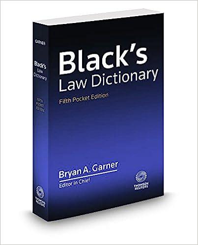 Blacks Law Dictionary 7th Edition Pdf