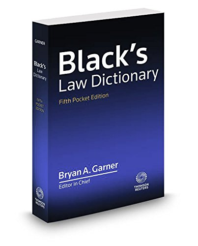 Black's Law Dictionary, Fifth Po...