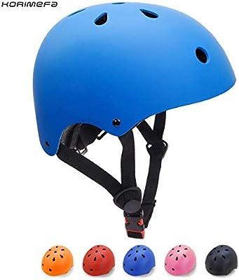 KORIMEFA Casco Bicicleta para Niños Casco Infantil Ajustable para ...