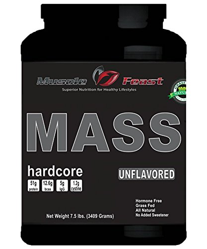 Mass Hardcore-Hormone Free Unflavored 7.5