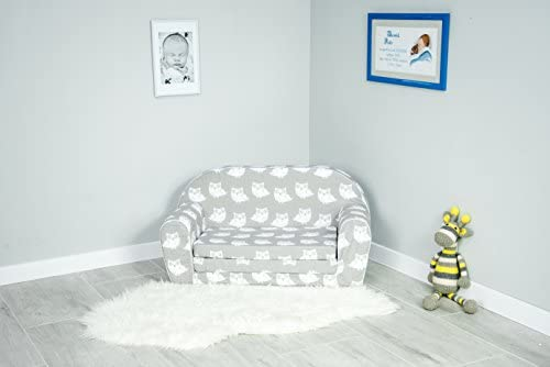 Sofá cama con colchón plegable infantil de gomaespuma: Amazon.es: Hogar