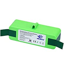 [2017UPGRADE]Melasta Higher Power 6400mAh 14.8V Li-ion Replacement Battery Made of Brand cells for iRobot Roomba 500 600 700 800 Series 510 530 531 532 550 585 595 561 620 630 650 760 770 780 870 880