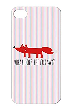 5ff65776974385 T Shirts Funny Youtube Foxy Funny Song Meme Fox Cartoon What Does The Say  Comic Hipster Ring Ding Red TPU Cover Case For Iphone 4s  Amazon.ca  Cell  Phones   ...