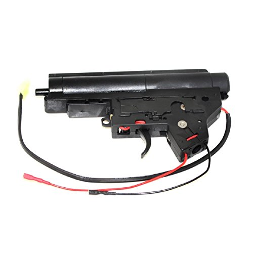 Airsoft Shooting Gear V2 8mm Complete QD Gearbox M-Series JG Version 2 Rear Line (Aeg Gearbox Selector Plate)