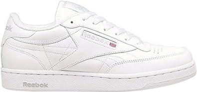 1ae272d6ce5e93 Reebok Men s Classics Club C - Wide 2E Shoe White Sheer Grey (8.5 EE