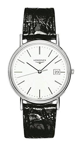 Longines Reloj Analógico para Hombre de Cuarzo con Correa en Cuero L47904122: Amazon.es: Relojes