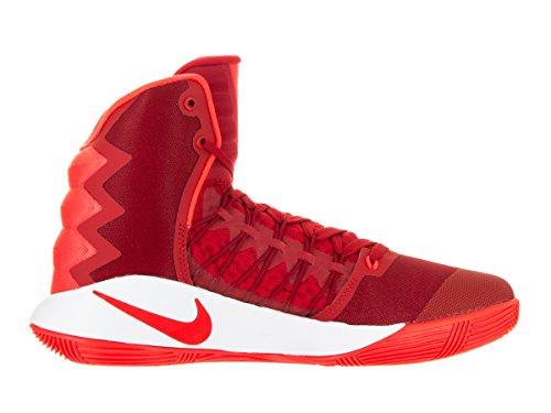 Nike Hyperdunk 2016, Zapatillas de Baloncesto para Hombre Rojo (University Red / Bright Crimson-White)