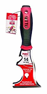 Linzer #5600 14-in-1 Paint Tool. Red with Black Handle