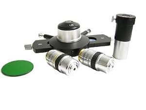 Müller - Set de contraste de fase para microscopio (10x/40x, plan acromático)