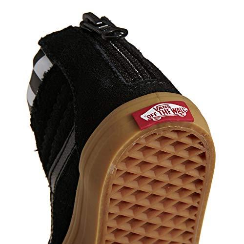 Black Checkerboard Para Vans Hombre Pantalones qczfqgv