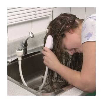 Image result for 1970s washing hair rubber shower