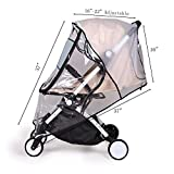 Bemece Stroller Rain Cover Universal, Baby Travel