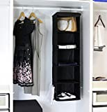 Simple Houseware 5 Shelves Hanging Closet Organizer