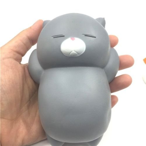 Jumbo 12CM Squishy Lazy Sleep Cat Pussy Slow Rising Charm Toys