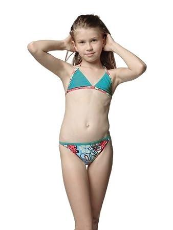 eleMar Mädchen Bikini, 104-176, NEU, Farbe:024 hawaii; Größe:104 ...