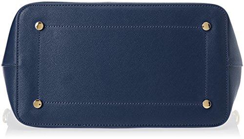 Trussardi Jeans Levanto, Borsa a Spalla Donna, 41x29x20 cm (W x H x L) Blu