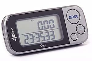 Ozeri 4x3sport Tri-Mode Activity Tracker (Walk, Run, & Stair Climb), with Multi-Axis Detection & 30 Day Memory
